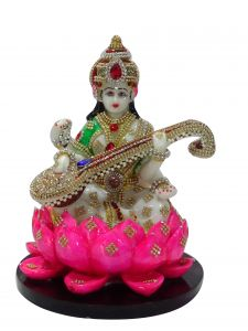 "Paras Magic Saraswati Idol(8.25X8.25X11.5"")"