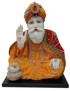Paras Magic Guru Nanak Ji (12x8x13 inch)