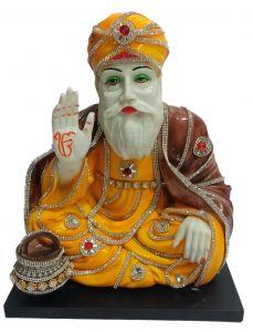 Paras Magic Guru Nanak Ji (12X8X12.5 inch)