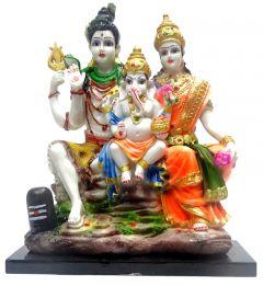 """Paras Magic Shiv Parivar Idol(10.5X5.5X12"""")"""