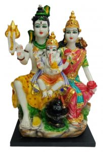 Paras Magic Shiv Parivar Idol (10.5X9X18 inch)