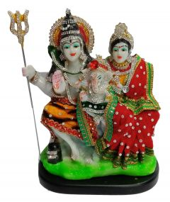 Paras Magic Shiv Parivar (7.5X5.25X10 inch)