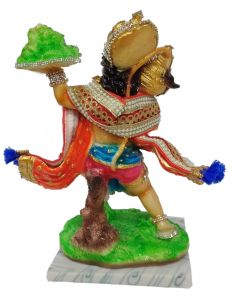 Paras Magic Pahad Hanuman Ji (7.5X6X12 inches)