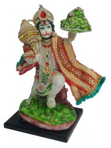 Paras Magic Hanuman Ji (7.5X6X12 inch)