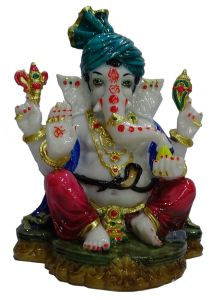 Paras Magic Pagdi Ganesh JI (9x8x12 inch)