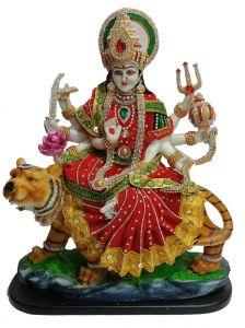 Paras Magic Durga Mata Ji (16.25X7X17.5 inch)