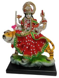 Paras Magic Durga Mata Ji (6.25X3.5X8.25 inchbr