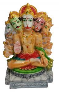Paras Magic Panch Mukhi Hanuman Ji (9X7X12.5 inch)