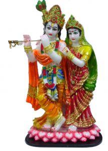 Paras Magic Lotus Radha Krishna Ji (17X11X30 inch)