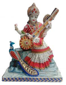 Paras Magic Saraswati Ji(17.5X13X20.5 inch)
