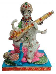 Paras Magic Saraswati Ji (13X11X17.25 inch)