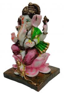 Paras Magic Lotus Ganesh Ji (7X6.5X11 inch)