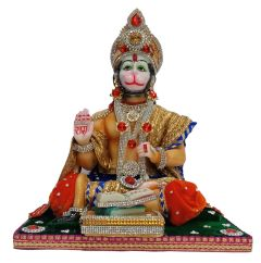 Paras Magic Hanuman Ji(11X8.75X11 inch)