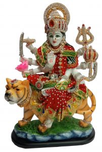 Paras Magic Durga Mata Ji (12X5.5X16.5 inch)