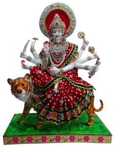 Paras Magic Durga Mata JI (24x12x32.75 Inch)
