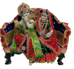Paras Magic Sofa Radha Krishna Ji(14.25X8.25X13.5 inch)