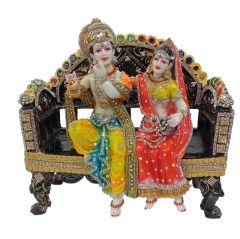 Paras Magic Radha Krishna ((14x8x13 inch)