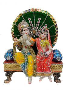 Paras Magic Radha Krishna Ji (14x6x17 inch)