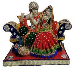 Paras Magic Sofa Radha Krishna Ji (10X5.5X8.75 inch)