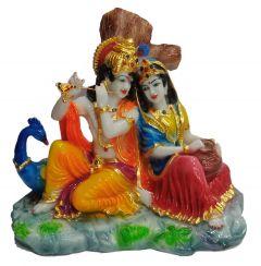 Paras Magic Dali Radha Krishna Ji (12x7x9.5 inch)