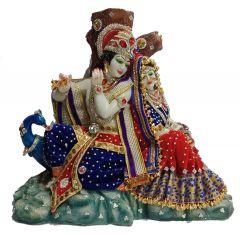 Paras Magic Dali Radha Krishna Ji (19.75X10X16.25 inch)