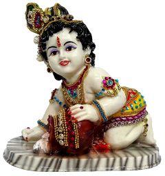 "Paras Magic Makhan Chor Krishna (7.87x4.72x7.48"")"