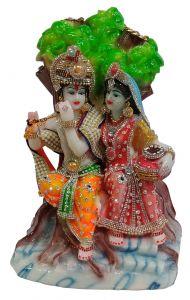 Paras Magic Radha Krishna Idol (9.75x6.75x13.75 inches)