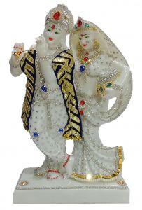Paras Magic Matka Radha Krishna JI (10x5.5x16.5)