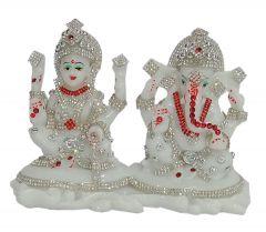 Paras Magic Lakshmi Ganesh Idol (7X3X5 inch)
