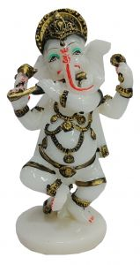 Paras Magic Bansuri Ganesh Ji (5x3.5x8.5 inch)