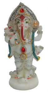 Paras Magic Standing Ganesh Ji (4.5x3.25x8.5 inch)