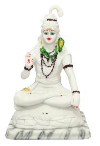 "Paras Magic White Shiv Idol(10X8X15"")"