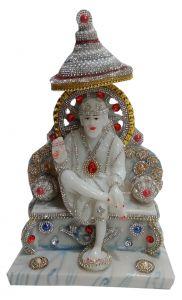 Paras Magic Sai Baba Idol (7.5x5x12.5 inches)