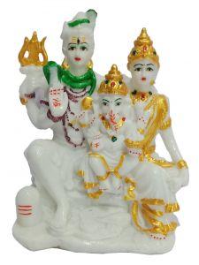 Paras Magic Shiv Family(6.75x4.5x8  inch)