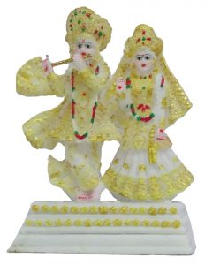 Paras Magic Iskon Radha Krishna Ji (8x5x11 inch)