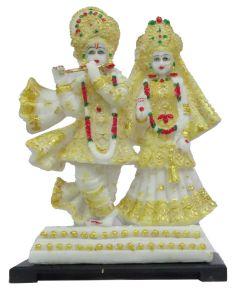 Paras Magic Iskon Radha Krishna Ji  (9.5X6.25X14.25 inch)