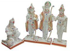 "Paras Magic Ram Darbar Idol R(8X6.5X23""), L(8X6.5X21.5""), S(8X6.5X22""), H(9X9x15"")"