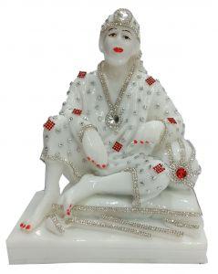 Paras Magic Sai Baba Idol (7X5.25X8.75 inch)