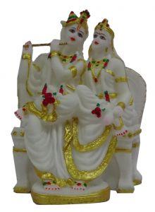 Paras Magic Radha Krishna Ji (8X6.75X13 inch)