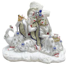 "Paras Magic Beautiful New Radha Krishna Statue(11.5X7X8.25"")"