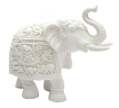 "Paras Magic Elephant Showpiece(8.25X3.5X7.5"")"