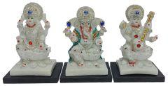Paras Magic Lakshmi Ganesh Saraswati Ji (13.75X4.5X7.5 inch)