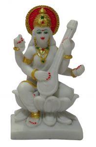 "Paras Magic Small Saraswati Idol(7X2.75X7"")"