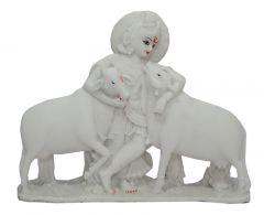 "Paras Magic Krishna with Two Cow(13X3.25X10.25"")"