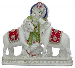 Paras Magic Cow Krishna Ji (14.25X3.5X11.5 inch)