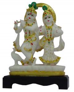 Paras Magic Small Chakra radha Krishna Ji (7.25x2x10 inch)