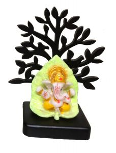Paras Magic Ganesh on Tree Base (4.5X2.25x5.5 inch)
