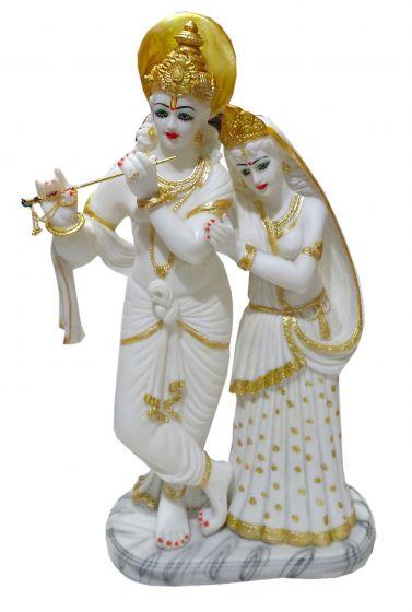 Paras Magic White Radha Krishna Idol 12 5x7 5x24